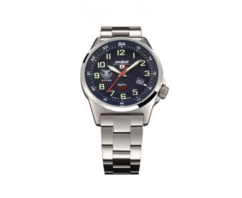 KENTEX ケンテックス JSDF 空自ソーラーメタルベルトS715M-05 腕時計 メンズ レディース 有名人 愛用 代引き 手数料無料 ギフト プレゼント クリスマス 誕生日 記念日 贈り物 人気 おしゃれ ペア 祝い セール 結婚式 お呼ばれ