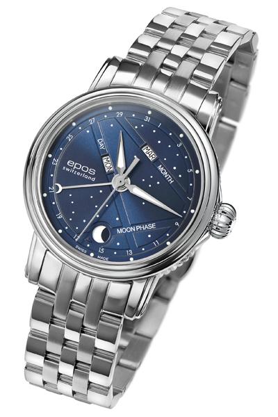 エポス epos 4391nsblm レディース ステンレス ladies 腕時計 自動巻 送料無料  プレゼント 記念日 クリスマス 誕生日 贈り物 人気 お祝い ペア おしゃれ 結婚式 メンズ レディース