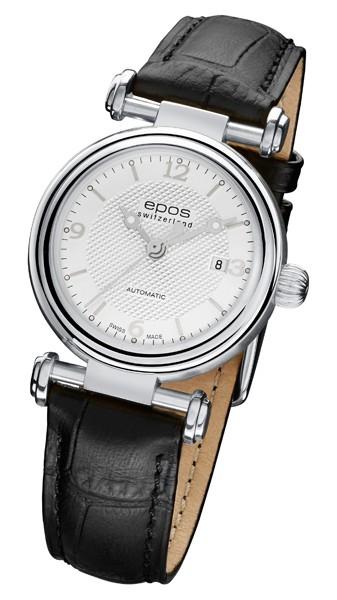 エポス epos 4430slレディース レザー ladies 腕時計 自動巻 送料無料  プレゼント 記念日 クリスマス 誕生日 贈り物 人気 お祝い ペア おしゃれ 結婚式 メンズ レディース