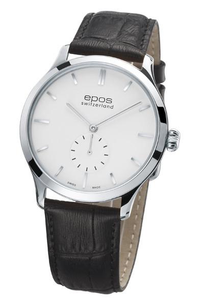 エポス epos 3408wh レザー メンズ originale 腕時計 自動巻 送料無料  プレゼント 記念日 クリスマス 誕生日 贈り物 人気 お祝い ペア おしゃれ 結婚式 メンズ レディース