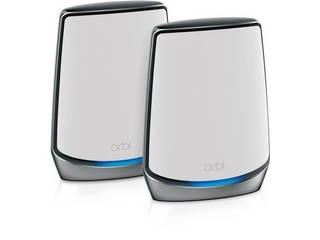 NETGAER/ネットギア・インターナショナル 11ac対応無線LANルーター 2402+2402+1147Mbps Orbi WiFi 6 2台セット RBK852-100JPS 単品購入のみ可(取引先倉庫からの出荷のため) クレジットカード決済、代金引換決済のみ
