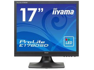 iiyama/飯山 17型LED液晶ディスプレイ ProLite E1780SD マーベルブラック E1780SD-B1