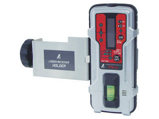 SHINWA シンワ測定 受光器 レーザーレシーバー 直輸入品激安 2 Plus 71500 ホルダー付 バーゲンセール