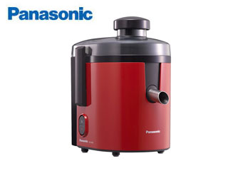 【nightsale】 Panasonic/パナソニック MJ-H200-R 高速ジューサー (レッド)