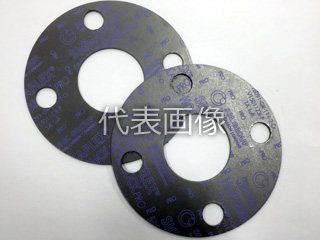 Matex/ジャパンマテックス 【HOCHDRUCK-Pro】高圧蒸気用膨張黒鉛ガスケット 1500-3t-FF-10K-150A(1枚)
