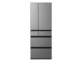 【標準配送設置無料!】 Panasonic/パナソニック 【まごころ配送】NR-F604WPX-H パーシャル搭載冷蔵庫 (ミスティダークグレー)【600L】