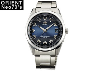 ORIENT/オリエント 【正規品】WV0071SE 腕時計 ソーラー電波 Neo70's 【MENS/メンズ】 【ブルー】