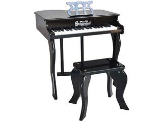 感謝価格 37鍵盤のトイピアノ ※納期にお時間がかかる場合がございます Schoenhut シェーンハット 372B 37-Key Black Elite Baby Grand Piano トイピアノ and 九州地方 プレゼント Bench 沖縄 お子様向け 配送時間指定不可 正規品 37鍵盤 その他の離島は配送できません 北海道