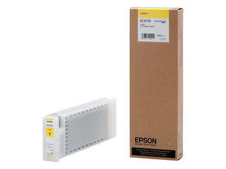 EPSON/エプソン Sure Color用 インクカートリッジ/700ml(イエロー) SC2Y70
