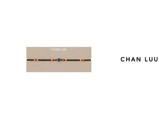 CHAN LUU/チャンルー セミプレシャスストーン レザーラップネックレス NG-13283(BLUE SAPPHIRE) チャンルーオリジナル巾着袋付き!