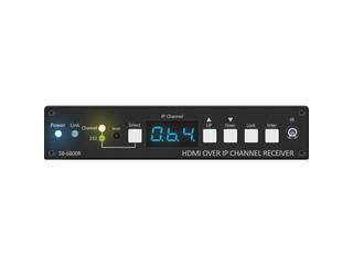 ジャパンマテリアル IP伝送HDMI受信器 SB-6800R