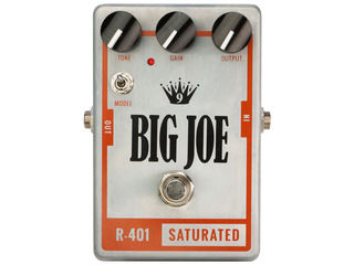 Big Joe/ビッグジョー R-401 【BIG JOEエフェクター】 SATURATED オーバードライブ/ディストーション 【BJEFF】