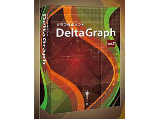 グラフ作成のスタンダードツール「DeltaGraph」 Red Rock Software DeltaGraph7J Win