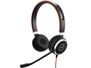 GNオーディオ PC向けステレオヘッドセット(両耳タイプ) Microsoft Lync認定 Jabra EVOLVE 40 MS Stereo 6399-823-109