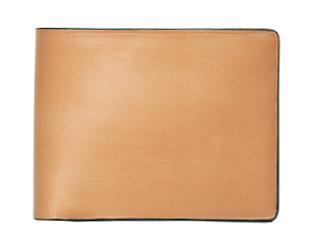 Il Bussetto/イルブセット Wallet【ナチュラル】 二つ折り財布 (コインケース付)