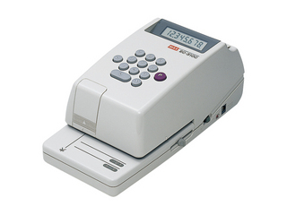 MAX/マックス 電子チェックライター EC-310C EC90007