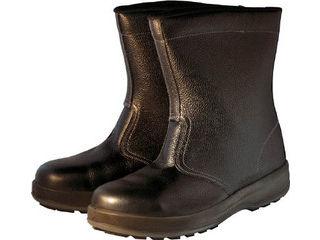 Simon/シモン 安全靴 半長靴 WS44黒 24.0cm WS44BK-24.0