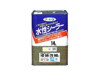 ASAHIPEN/アサヒペン さび止め・プライマー・補助剤 シーラー 14L (ライトレモン)