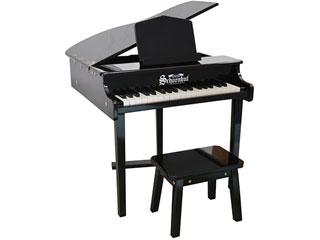 グランドピアノタイプの37 NEW ARRIVAL 鍵盤ピアノ ※納期にお時間がかかる場合がございます Schoenhut シェーンハット 379B 37-Key Black Concert Grand Piano and 37鍵盤 Bench 沖縄 ク 配送時間指定不可 お子様向け プレゼント 北海道 トイピアノ 実物 九州地方 その他の離島は配送できません