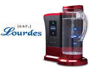 ビクトリージャパン HS-72 水素水生成器 ルルド (ワインレッド)