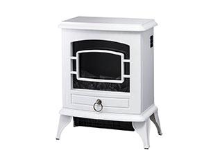 【nightsale】 Three-up/スリーアップ CH-T1840(WH) 暖炉型ヒーター Nostalgie/ノスタルジア ホワイト
