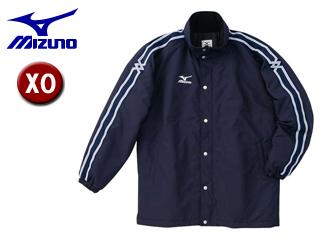 mizuno/ミズノ A60JF961-14 中綿ウォーマーキルトシャツ フード収納式 【XO】 (ネイビー)