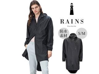 RAINS/レインズ 防水■ジャケット【ブラック】■ユニセックスS/M■レインウェア■Parka Coa/パーカコート