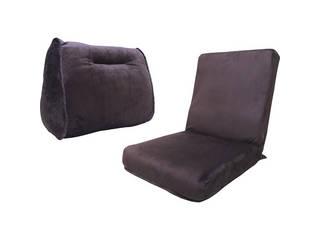 ボアクッション&座椅子セット ブラウン BCSZ BR