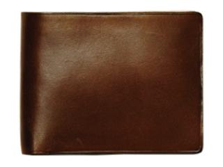 Il Bussetto/イルブセット Wallet【ダークブラウン】 二つ折り財布 (コインケース付)