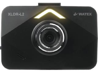 WATEX/ワーテックス XLDR-L2S-IR-B 3.5インチ液晶ドライブレコーダー 配線(駐車録画可)IRサブカメラ付き(赤外線付き)