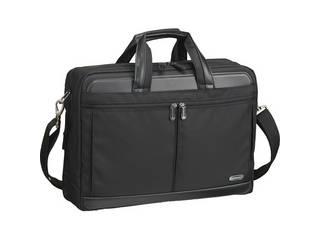 ワールドトラベラー ワールドトラベラー 2気室ビジネスバッグ ブラック  26518-01