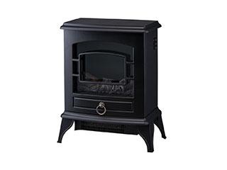 【nightsale】 Three-up/スリーアップ CH-T1840(BK) 暖炉型ヒーター Nostalgie/ノスタルジア ブラック