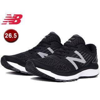 NewBalance/ニューバランス ■M860-BK9-2E ランニングシューズ メンズ 【26.5cm】 (ブラック)