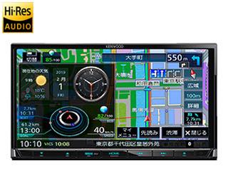KENWOOD/ケンウッド 【納期未定】MDV-S706 Sai-Soku/彩速ナビゲーション 7V型ワイドVGAパネル ハイレゾ音源/Bluetooth内蔵/VICS WIDE 地図更新1年間無料