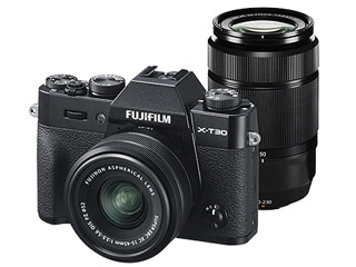 FUJIFILM/フジフイルム F X-T30WZLK-B(ブラック) FUJIFILMX-T30 ダブルズームレンズキット