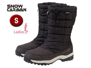 SNOW CARAVAN/スノーキャラバン 0023018 ウィンターブーツ SHC-8S (ブラック)【S】【女性用】