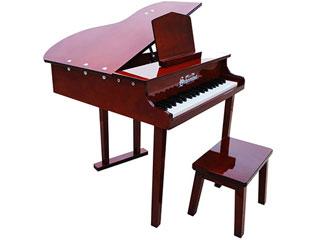 グランドピアノタイプの37 鍵盤ピアノ ※納期にお時間がかかる場合がございます Schoenhut シェーンハット 379M 37-Key Mahogany Concert Grand Piano その他の離島は配送できません 37鍵盤 北海道 プレゼント お子様向け Bench 沖縄 and サービス トイピアノ 九州地方 在庫限り 配送時間指定不可
