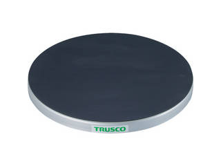 TRUSCO/トラスコ中山 回転台 150Kg型 Φ400 ゴムマット張り天板 TC40-15G