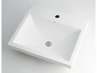 KAKUDAI/カクダイ 493-003 角型洗面器 (1ホール)