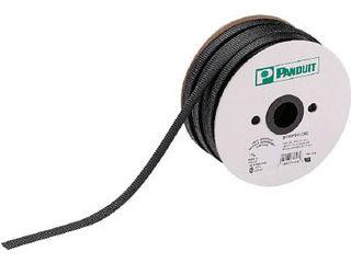 Panduit/パンドウイットコーポレーション スーパーネットチューブ(ほつれ防止タイプ) 黒 SE12PSC-TR0