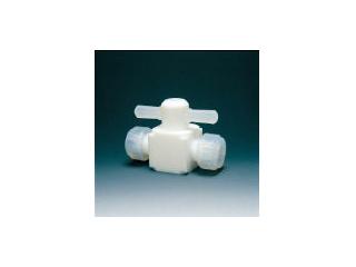 Flon/フロンケミカル フッ素樹脂(PTFE)二方バルブ圧入型 12φ NR0003-004