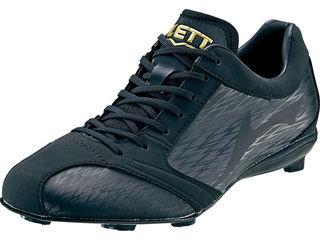 ZETT/ゼット 埋込みスパイク スーパーグランドジャック サイズ:26.5 cm カラー:ブラック×ブラック