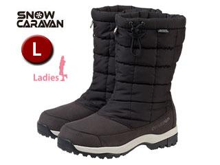 SNOW CARAVAN/スノーキャラバン 0023018 ウィンターブーツ SHC-8S (ブラック)【L】【女性用】