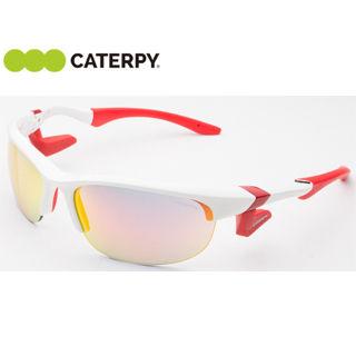 CATERPY/キャタピー CAF-102C-1 《ノーズパッドレス》スポーツサングラス AirFly/エアフライ【標準サイズ】(ホワイト)