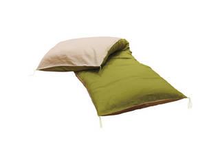 麻カバー付 ごろ寝できる長い座布団  Z00003