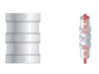 ALINCO/アルインコ 単管用パイプジョイント パイプ継ぎ HKD2R