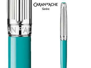 CARAN dACHE/カランダッシュ 【Leman/レマン】バイカラー ターコイズブルー メカニカルペンシル 4769-171