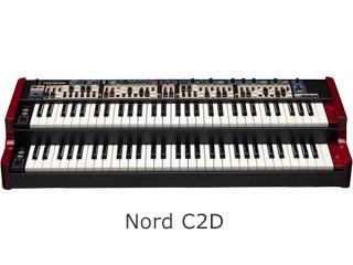 CLAVIA/クラヴィア Nord C2D オルガン