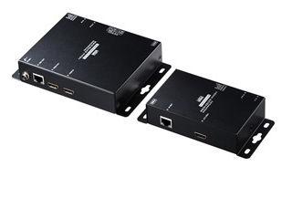 受信機側にACアダプタを必要としないPoE対応のHDMIエクステンダー。 サンワサプライ PoE対応HDMIエクステンダー(セットモデル) VGA-EXHDPOE2