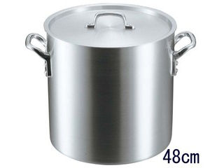 EBM 【代引不可】EBM アルミ S型 寸胴鍋 48